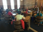 Students Learn About Government as a Legislator for a Day