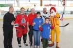 NY Rangers and Chase Hockey Equipment Drive at Ebersole