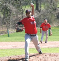 Stepinac starting pitcher Richie Rodriguez was having a good day while giving up only three hits and one run through four innings until the Tigers got four straight hits off the lefty sophomore and five runs off three pitchers in the fifth inning.