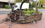 White Plains Beautification Flower Garden Basket Weathers Another Storm
