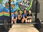 No Small Feat as Girl Weightlifters Prepare for Strong Competition