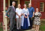 White Plains Visited by Alexander Hamilton Direct Descendant