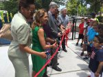 White Plains Opens Inclusive Playground and Fitness Area at Kittrell Park
