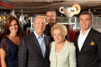 The Livanos family (from left): Corina, John, Bill, Chrysa and Nick.