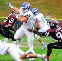 Mahopac senior RB Dino Milazzo should lead the Indians' ground game after coming on strong late last season.
