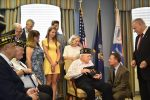 Forgotten Medals Presented to Local WWII Veteran After 70 Years