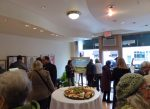 An opening reception was held on Sunday for the newly constituted Mount Kisco Arts Council's first effort, a pop-up art gallery at 10 S. Moger Ave.