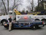 Mt. Pleasant Towing Company Pays Tribute to Fallen Officers