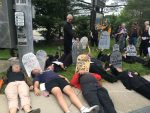 Protestors Urge Senator Murphy to Support Health Act