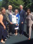 FSW Celebrates Children's Playground Donors Les and Sybil Rosenberg