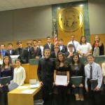 Yorktown Officials Recognize Youth Court Graduates