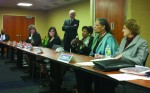 Westchester County politicians discuss developmental disabilities funding at a panel organized by ARC Westchester.