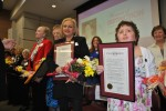 Antoinette De Bellis (left) and Erin Bentivegna (right) were among the honorees.