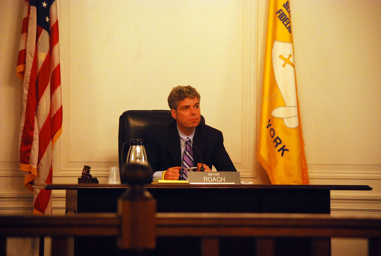 White Plains Mayor Tom Roach