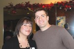 Jamie imperati, founder of the Professional Women groups, and examiner Media Publisher Adam Stone.