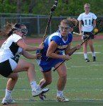 Hen-Hud Evens Girls Lax Season Series with Somers; Share League Lead