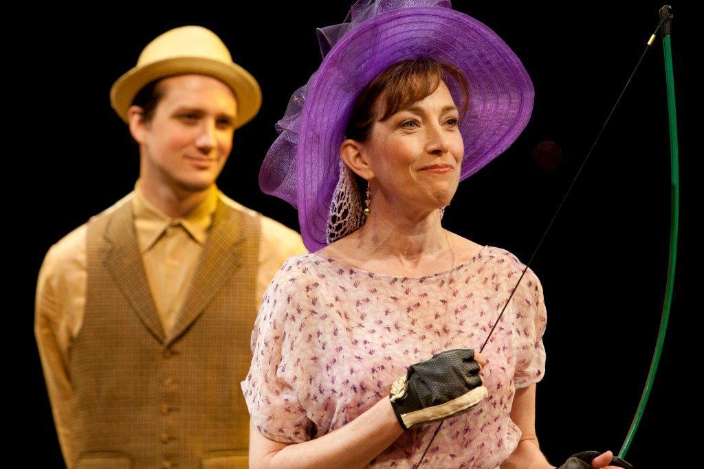 Drew Lewis (Dumaine), Denise Cormier (Princess)
