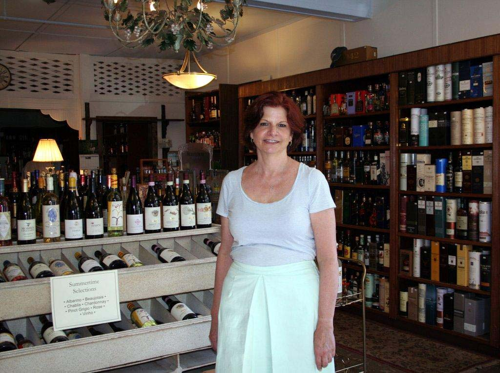 Judy Brazong, owner of My Sherry &more, in Briarcliff Manor.
