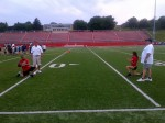 Kids Learn Fundamentals of Football Through One-Week Camp