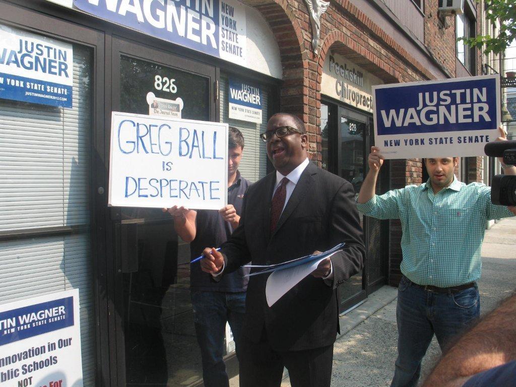 Greg Ball Justin Wagner