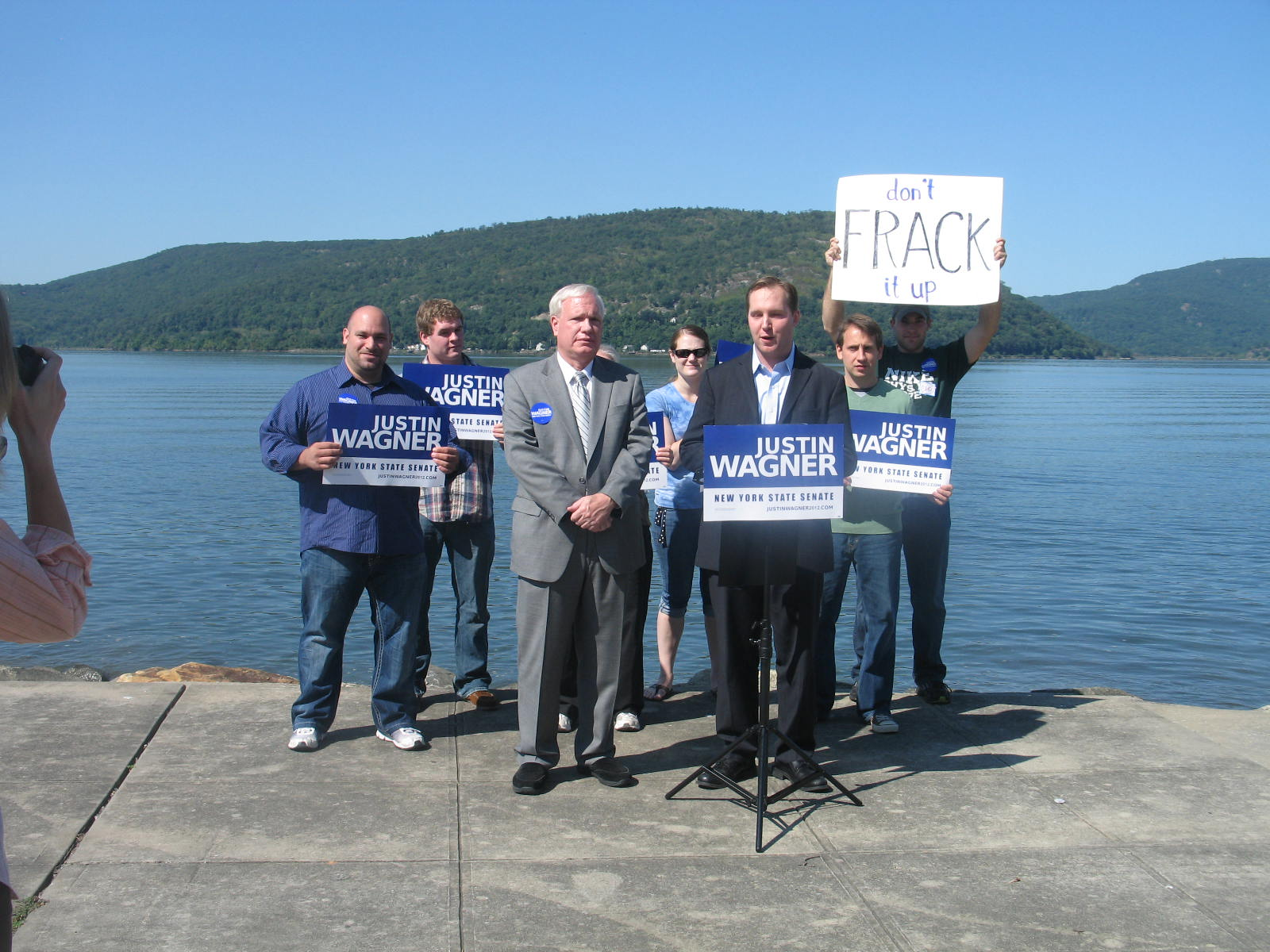 Sept. 25 Justin Wagner Rally Pix