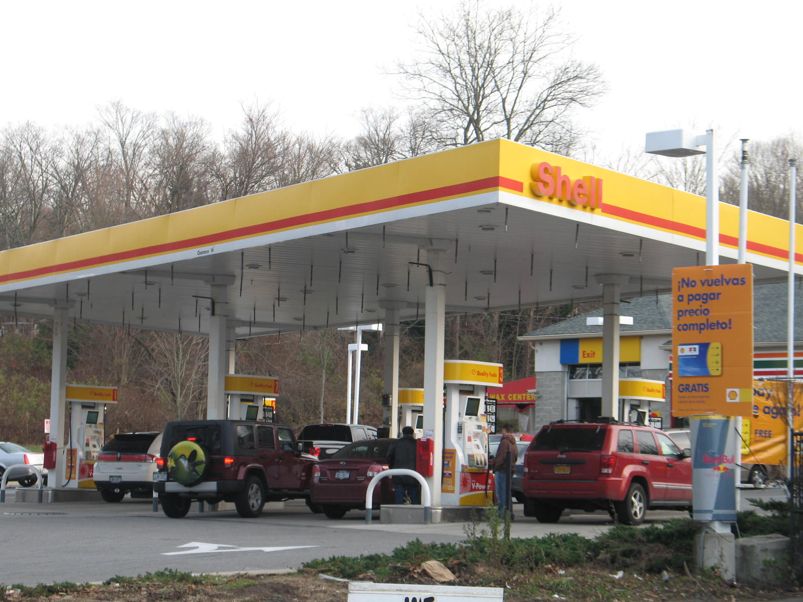 Nov. 20 Yorktown Gas Guoging Pix