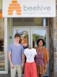 Greeley Senior Creates Buzz With T-Shirt Designs at Kisco Boutique