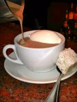 Hot Chocolate is a Favorite Drink for City Limits' Chef to Prepare
