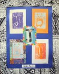 Block Prints Enliven Mahopac Library's Young Arts Gallery