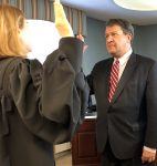 Latimer Sworn In As County Executive, Vows More Transparency