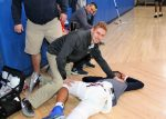 Stepinac Athletic Instructor Uses Training to Save a Life