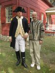 White Plains Historical Society Fetes George's 286th