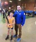 Mahopac's Johnson Wins 65-Lb USA Grappling Title