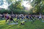 Mega Outdoor Yoga Event Returns to Court Street, White Plains