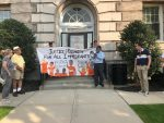 Rally Held for Ossining Man Detained by ICE Agents at Home