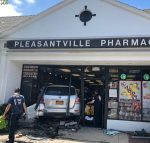 Car Crashes into Pleasantville Pharmacy; Elderly Customer Hospitalized