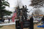 Historic Pines Bridge Monument Unveiled in Yorktown