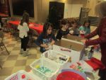 Holy Rosary's Christmas Spirit Sends Packages, Cards to the Troops