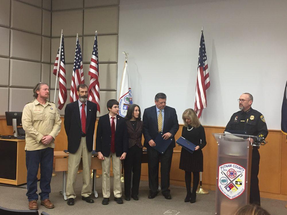 Sheriff 's Dept  Holds Ceremony Highlighting Service
