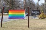 Yorktown United Methodist Church Sends a Message Raising Rainbow Flag