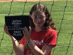 White Plains Girl Delivers in Pitch Hit & Run Contest