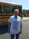 Student Tee Shirts Encourage 20 MPH Speed Limit in School Zones