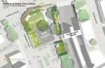 Memorial Plaza Survey Distributed By Former P'ville Village Trustee