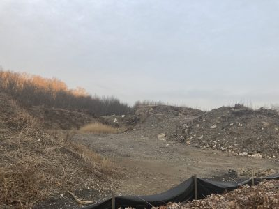 Town of Cortlandt dumping site where Robert Dyckman & Peekskill Contractor Griffin's Landscaping Corporation broke the law.