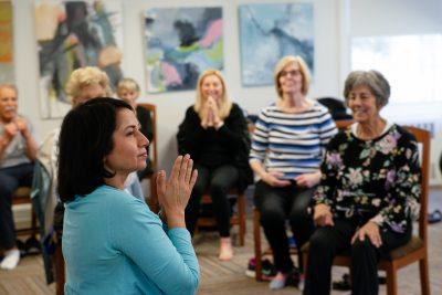 Yoga for Charity Alka Kaminer