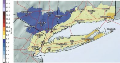 Westchester County Weather 2/7