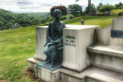 Kensico Cemetery in Valhalla