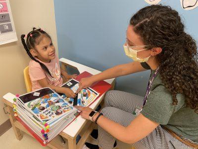 Blythedale Children's Hospital patient