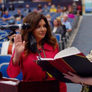 Lakeland Interim Superintendent of Schools Dr. Karen Gagliardi